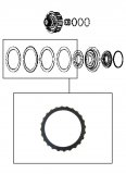 FRICTION PLATE <br> E Clutch