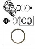 FRICTION PLATE <br>2-6 Clutch