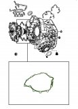 GASKET <br>  Front Cover