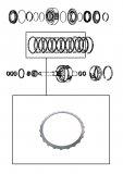 WAVY STEEL PLATE <br> C4 Clutch