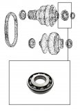 BALL BEARING <br> Seconday Pulley