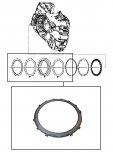 STEEL PLATE <br> 1-2-3-4 Clutch