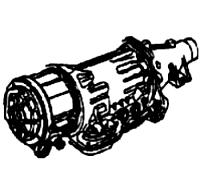3N71B, L3N<br>3-Speed Automatic Transmission<br>RWD, Electronic & Hydraulic Control<br>Manufacturer: Nissan 1971-1987