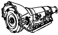 4L80E, MT1<br>4-Speed Automatic Transmission<br>RWD, Eletronic Control<br>Manufacturer: General Motors 1991-2012