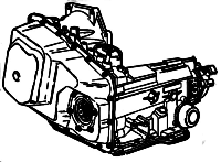 4T60E, M13<br>4-Speed Automatic Transmission<br>FWD, Eletronic Control<br>Manufacturer: General Motors 1980-2000