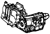 4T80E, MH1<br>4-Speed Automatic Transmission<br>FWD, Eletronic Control<br>Manufacturer: General Motors 1993-2011