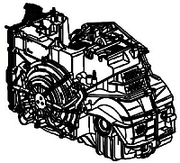 6F50, 6F55, MH2, MH4<br> 6-Speed Automatic Transmission<br>FWD, Eletronic Control<br>Manufacturer: General Motors 2007-up