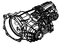 ZF7DT45HL, PDK<br>7-Speed Automatic Transmission, Rear Engine<br>AWD, Dual Clutch<br>Manufacturer: ZF 2008-up
