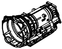 ZF8HP75, 8HP75X, 8HP75HIS<br>8-Speed Automatic Transmission<br>RWD, Eletronic Control<br>Manufacturer: ZF 2009-up