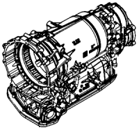 8HP95A, 8HP95, 8HP95X, 8HP95Z<br>8-Speed Automatic Transmission<br>AWD Electronic Control<br>Manufacturer: ZF 2008-up