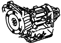 A174<br>4-Speed Automatic Transmission<br>RWD, Eletronic Control<br>Manufacturer: Aisin Warner 2000-2011