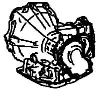 A210, MX17<br>3-Speed Automatic Transmission<br>FWD, Hydraulic & Eletronic Control<br>Manufacturer: Aisin Warner 1985-2001