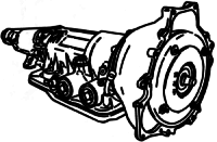 A4LD<br>4-Speed Automatic Transmission<br>RWD, Hydraulic & Eletronic Control, Lock-up<br>Manufacturer: Ford 1985-1995