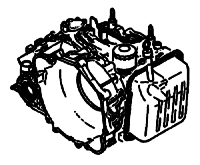 A5CF1<br>5-Speed Automatic Transmission<br>FWD, Lock-Up, Eletronic Control<br>Manufacturer: Mitsubishi  2005-up