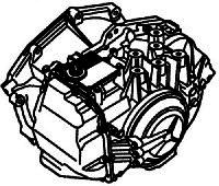 AF40, AF40-6, AW6-AEL, AM6, SU4<br>6-Speed Automatic Transmission<br>FWD, Eletronic Control<br>Manufacturer: Aisin Warner 2005-up