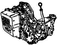 AXODE, AX4S<br>4-Speed Automatic Transmission<br>FWD, Hydraulic & Eletronic Control<br>Manufacturer: Ford 1992-2007