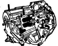 BAXA, MAXA, MDJA, MDWA, M6HA<br>4-Speed Automatic Transmission<br>FWD, 3 Shaft, Electronic Control<br>Manufacturer: Honda  1997-2002