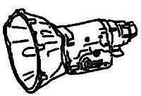 BW12<br>3-Speed Automatic Transmission<br>RWD, Hydraulic Control<br>Manufacturer: BorgWarner  1967-1974