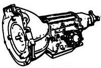 BW65, BW66<br>3-Speed Automatic Transmission<br>RWD, Hydraulic Control<br>Manufacturer: BorgWarner 1973-1986