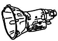 BW8<br>3-Speed Automatic Transmission<br>RWD, Hydraulic Control<br>Manufacturer: BorgWarner 1956-1966
