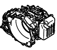 F1C1<br>CVT Automatic Transmission<br>FWD, Torque Converter, Eletronic Control<br>Manufacturer: Jatco 2001-up