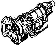 M41<br>3-Speed Automatic Transmission<br>RWD & AWD, Hydraulic Control<br>Manufacturer: Subaru 1975-1989