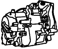 M4RA, S4RA, SLXA,<br>4-Speed Automatic Transmission, 3 Shaft<br>FWD, Eletronic & Hydraulic Control<br>Manufacturer: Honda 1996-2003