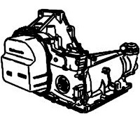 TH125, TH125C, THM3T40, M34<br>3-Speed Automatic Transmission<br>FWD, Hydraulic Control<br>Manufacturer: General Motors 1980-2002