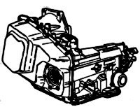 TH440-T4, TH440T4, 4T60, ME9,<br>4-Speed Automatic Transmission<br>FWD, Hydraulic Control<br>Manufacturer: General Motor 1983-2005