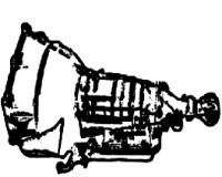 TURBO-GLIDE, TURBOGLIDE<br>3-Speed Automatic Transmission<br>RWD, Hydraulic Control<br>Manufacturer: General Motors 1957-1961