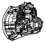 PF6<br>6-Speed Manual Transmission FWD<br>Manufacturer: Renault 1998-up