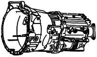 S637, S-637BZ/DZ<br>6-Speed Manual Transmission RWD & AWD<br> Manufacturer: ZF 2000-up