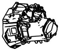 EGS6, EB6V, ETG6<br>5-Speed Robotised Transmission<br>FWD, Manufacturer: Peugeot & Citroen
