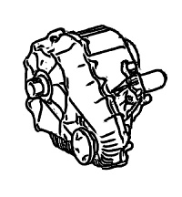 4Matic<br>Transfer Case, DCD Type<br>Optional Low Gearing<br>Manufacturer: Mercedes-Benz  2005-up