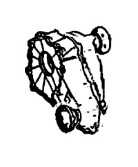 4Matic<br>Transfer Case, DCS Type<br>Single Speed without Optional Low Gearing<br>Manufacturer: Magna Powertrain  2005-up