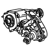 BW4405<br>Transfer Case, Eletric Shift<br>Manufacturer: BorgWarner 1995-up