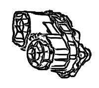 BW4462<br>Transfer Case, Eletronic Shift <br> Viscous Locking Differencial<br>Manufacturer: BorgWarner 2002-up