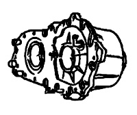 BW4479<br>Transfer Case, Full time<br>Manufacturer: BorgWarner 2004-up