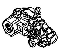 BW4484<br>Transfer Case, Full Time, Eletronic Shift<br>Manufacturer: BorgWarner 2000-up