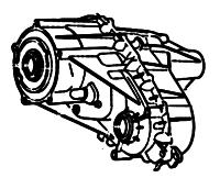 BW4493, BW4493, BW4494<br>Transfer Case, Full Time, Eletronic Shift<br>Manufacturer: BorgWarner 2007-up