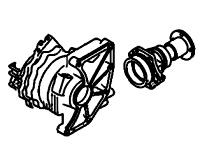CN30A, TY20A<br>Transfer Case, Full Time PTU<br>Manufacturer: Nissan 2003-2011