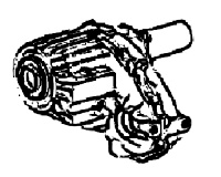 NP231, NP233<br>Transfer Case, Full Time,<br>Manufacturer: New Process Gear  1987-up