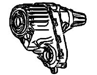 NP244, NP245<br>Transfer Case<br>Manufacturer: New Process Gear  1987-up