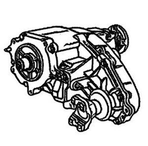 BW4405<br>Transfer Case, Eletric Shift<br>Manufacturer: BorgWarner 1995-up
