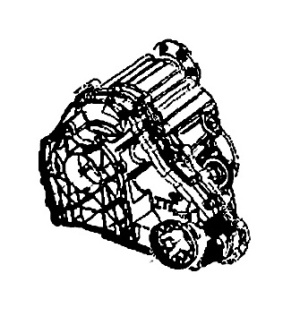 DD295, ITC<br><Transfer Case<br>Manufacturer: Magna Powertrain 2004-up