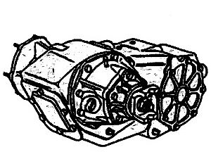 NP249<br>Transfer Case<br>Manufacturer: New Process Gear 1992-up