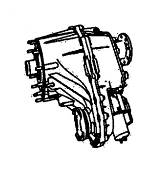 NVG245<br>Transfer Case<br>Manufacturer: New Venture Gear 2005-up